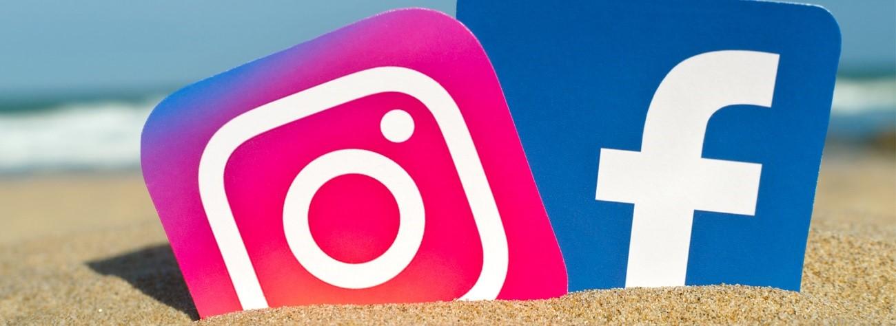 Vídeos Facebook e Instagram
